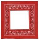 bandana rouge morgane