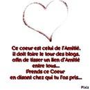 coeur amitier