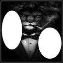 CADRE LION 2 PHOTO