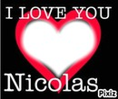 i love you nicolas