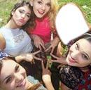 Tu foto con Lodo,Tini,Mechi y Vale!
