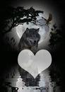 loup coeur