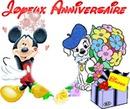 joyeux anniversaire mickey