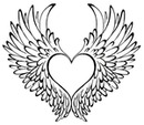 wings and hearts