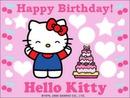hallo kitty birthday