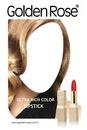 Golden Rose Ultra Rich Color Ruj Afiş Sahne Kız Yüzü