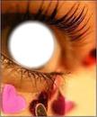 oeil de l'amour
