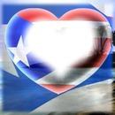 bandera de puerto tico en corazon