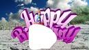 happy birthday plage