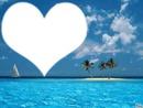 mer et coeur