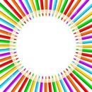 cercle crayon