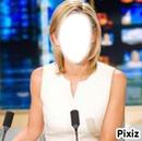 Présnetatrice du journal télévisé