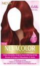 Nevacolor Premium Kalıcı Krem Saç Boyası Seti 6.66 Kor Kızıl