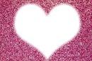 corazon con brillo