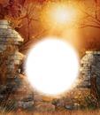 Mur de pierres-soleil