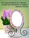 Tükör és virág+idézet