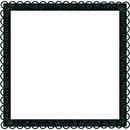 ymialma negro marco frame gotico