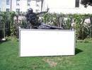 Statue panneau