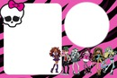 convite de aniversario da monster high