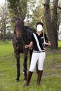 Selena Gomez cheval