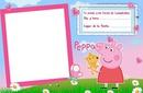 invitacion pepa pig