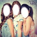 Violetta,Francesca y Camila