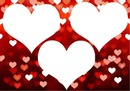 corações 3 fotos 1