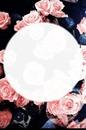 flowers & circle