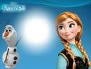 anna y olaf Frozen