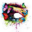 oeil papillon