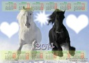 calendar 2014 with horse 2