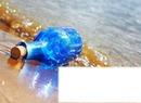 une bouteille a la  mer