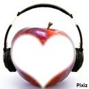muzique pomme et amour !!!