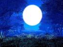 lune et l'enfant