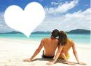 plage & amoureux