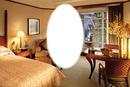 Hotel room frame