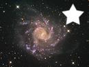 une étoile dans la galaxy