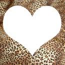 Cœur 1 photo léopard