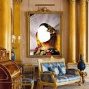 renewilly retrato en sala