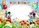 cumpleaños micky i minie