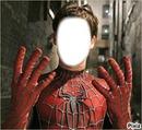 tete de spider man