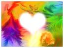 coeur de couleur