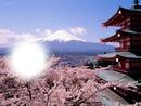 Le mont fudji 'Japon'