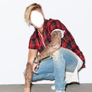 Gezicht Justin Bieber 2015