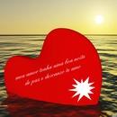 por do sol com coração