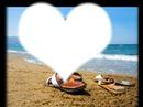 les amoureux a la plage