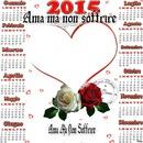 quadro con calendario e cuore