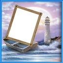 cadre fond mer 1 photo cadre bois
