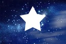 estrella con un cielo hermoso