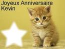 Joyeux anniversaire Kevin